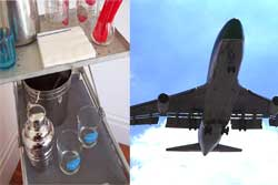 Drinking-water-on-airplanes