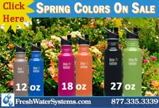 Klean Kanteen Color Water Bottle Sale