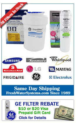 Change Refrigerator Water Filter & Clock November 7th