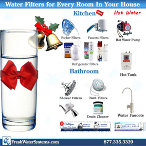 Water Filters for Holidays