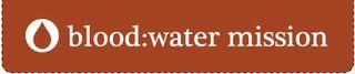 Blood water logo